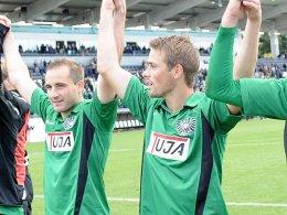 Patrick Kirsch (li.) und Fabian Hergesell