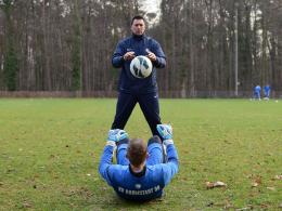 Dimo Wache (stehend) und Jan Zimmermann