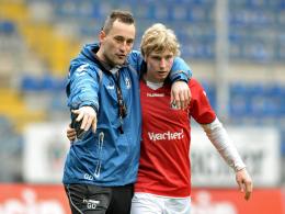 Georgi Donkov (li.) und Maurice Müller