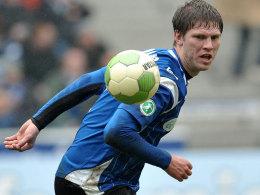 Der Bielefelder Klos ist nicht nur der beste Torjäger der Liga, sondern war auch der Matchwinner in Chemnitz.