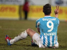 Ab in die Zweite des VfB: Marco Grüttner kehrt den Kickers den Rücken.