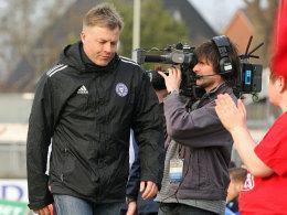 Abgang trotz Aufstieg: Kiels Coach Thosten Gutzeit.