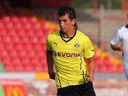 Dortmunder Doppeltorschütze: Julian Derstroff.