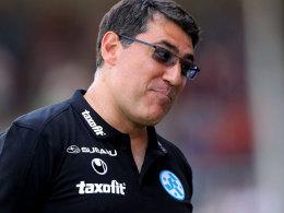 Sah sein Ende bei den Kickers kommen: Massimo Morales.