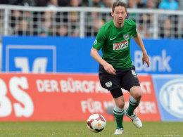 Nur noch bis Sommer in Münster am Ball: Routinier Stefan Kühne wird den Verein am Saisonende verlassen.