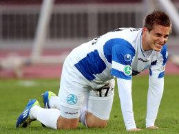 Quo vadis? Fabian Gersters Zukunft bei den Kickers ist noch nicht gesichert.