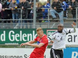 Musste vorzeitig vom Platz: Michael Thurk sah gegen Elversberg die Rote Karte.