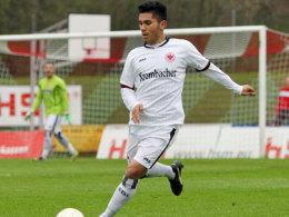 Soll seine technischen Fähigkeiten ab der kommenden Saison für den FCS einbringen: Eintracht Frankfurts Hassan Amin.
