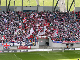 Hoher Zuschauerschnitt: In RB Leipzig verliert die 3. Liga einen Publikumsmagneten.