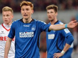 Gibt künftig Anweisungen für Hansa Rostock: Mittelfeldmann Kai Schwertfeger.