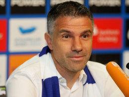 """Lobt die """"erstklassige Adresse"""": Der neue MSV-Coach Gino Lettieri."""
