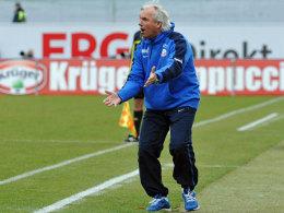 Zurück in Rostock: Peter Vollmann ist zum zweiten Mal Trainer der Hanseaten.