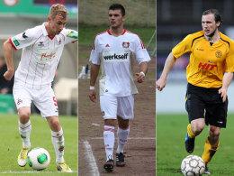 In der nächsten Saison für Köln am Ball: Marco Ban, Leon Heine und Tobias Fink (v.li.n.re.).