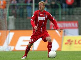 Hat keine Zukunft bei RWE: Mittelfeldspieler Marco Engelhardt.