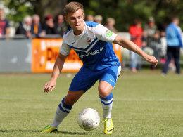 Fühlt sich wohl bei Hansa Rostock, muss sich aber neu beweisen: David Blacha.