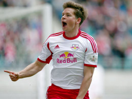 Der beste offensive Mittelfeld-Spieler der Rückrunde: Dominik Kaiser von RB Leipzig.