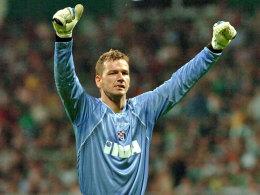 2008 Kroatischer Meister mit Dinamo Zagreb, nun Torwarttrainer in Großaspach: Georg Koch.