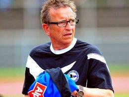 Arminia-Trainer Norbert Meier