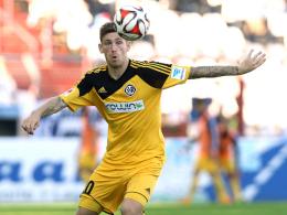 Schnürt in Zukunft die Fußballschuhe für die Arminia: Manuel Junglas kommt vom VfR Aalen.