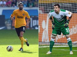 Beide stehen bei Dynamo vor einer Rückkehr ins Team: Nils Teixeira (li.) und Benjamin Kirsten.