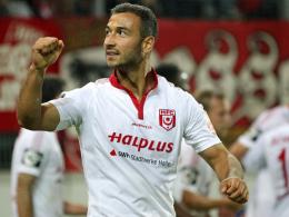 Rückte in den Fokus einiger Bundesligavereine: Halles Akaki Gogia.