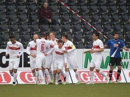 Überraschender Sieg der Stuttgarter U23: Die Konkurrenz rückt etwas näher an Bielefeld heran.