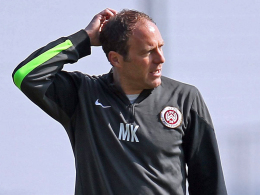 Ab sofort nicht mehr Cheftrainer beim SVWW: Marc Kienle.