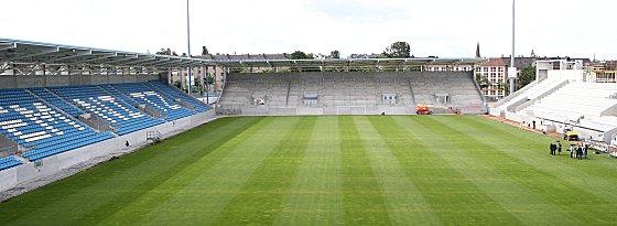 Stadionbaustelle Chemnitz