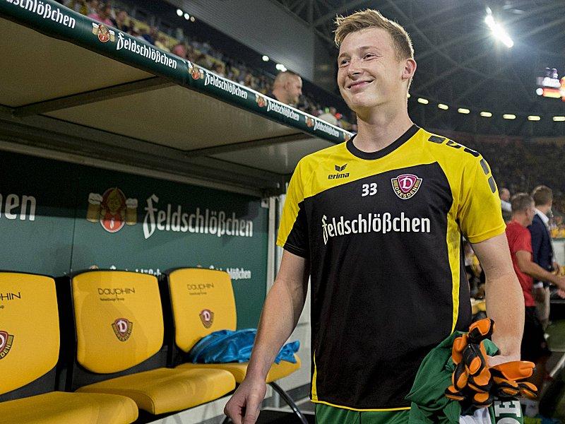 Markus Schubert schubert wird jüngster dynamo keeper 3 liga kicker