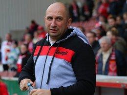 Stellt seinen Arbeitgeber zufrieden: Vasile Miriuta bleibt Trainer in Cottbus.