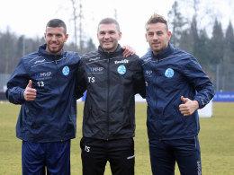 Kickers: Neues Trio - neue Hoffnung?