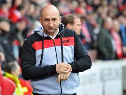 Freut sich auf einen rumänischen Landsmann: Energie-Coach Vasile Miriuta.