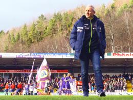 Bleibt gern länger im Erzgebirge: Trainer Pavel Dotchev.
