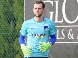 Fix: CFC leiht Hertha-Torwart Gersbeck aus