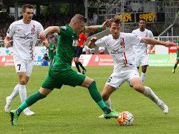 DFB setzt W�rzburg gegen M�nster neu an