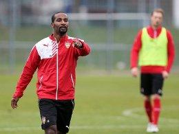 VfB m�chte mit Cacau Punkte statt Komplimente