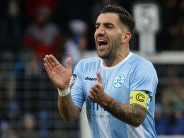 Treibt die Drittliga-Mannschaft der Kickers vorerst nicht an: Vincenzo Marchese.