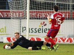 Aus Stuttgarter Kickers gegen Holstein Kiel