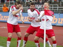 Fortuna K�ln startet erfolgreich in die englische Woche