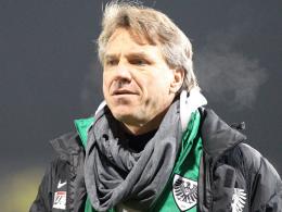 Hat gegen Chemnitz wieder mehr Alternativen: Preußen-Coach Horst Steffen.