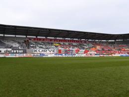 Hier wird der Auftakt des 30. Spieltags ausgetragen: Das Stadion des Halleschen FC.