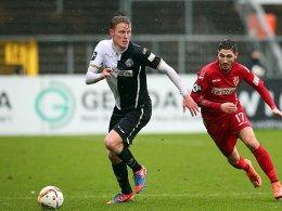 Gerrit Wegkamp erzielte das 2:0 im Kellerduell gegen Energie Cottbus.