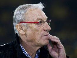 Macht sich große Sorgen um den FC Energie: Kulttrainer Eduard Geyer.