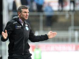 SVK-Trainer Tomislav Stipic.