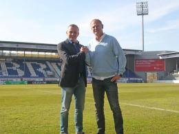 SVWW-Sportdirektor Christian Hock und Torsten Fröhling.