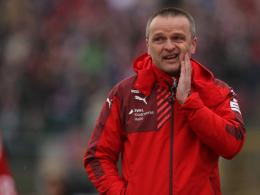 Halle-Coach Stefan Böger.