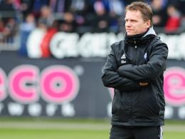 Trainer von Holstein Kiel: Karsten Neitzel.