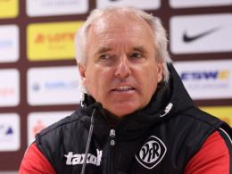 Aalens Trainer Peter Vollmann.