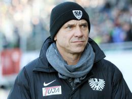 Münster-Coach Horst Steffen