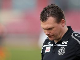 Gro�e Defensivsorgen bei Fortunas Trainer Koschinat